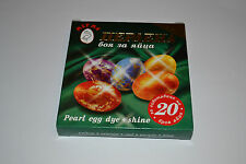 5 Colors Pearl Dye + Gold Shine Paint Dyeing Decorating Painting EASTER EGG