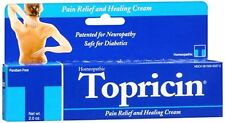 Topricin Pain Relief and Healing Cream 2 oz (Pack of 8)
