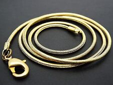 46cm x 1.5mm bronze SNAKE CHAINS jewellery craft chain necklace pendant rope uk