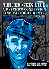 The Ed Gein File: A Psycho's Confession and Case Documents NEW BOOK - FREE SHIP