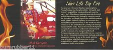 "2013 MEL KENYON ""7 TIME USAC MIDGET CHAMP"" NEW LIFE BY FIRE NON NASCAR POSTCARD"