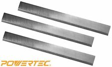 POWERTEC 148022 6-Inch Jointer Knives for Craftsman 21705, HSS, Set of 3