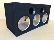 "Custom Ported Sub Box Enclosure for 3 10"" Sundown Audio SA10 SA-10 Subs (35 Hz)"