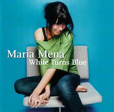 MARIA MENA : WHITE TURNS BLUE / CD - TOP-ZUSTAND
