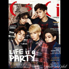 Ceci Korea December 2014 SHINee VIXX SISTAR Girls Generation Sunny - COLOR COVER