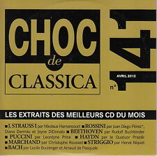 CD ALBUM PROMO CHOC DE CLASSICA 141 / AVRIL 2012