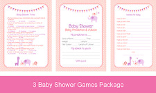 ROSA BABY GIRL DOCCIA Game Pack (previsioni, desideri e banalità) rrp £ 14