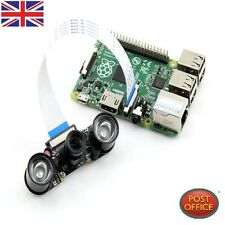 Infrared Night Vision Surveillance Camera+2pc Infrared Light 3W Fr Raspberry Pi