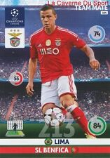 104 LIMA SL.BENFICA BRAZIL CARD CHAMPIONS LEAGUE ADRENALYN 2015 PANINI