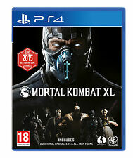 Mortal Kombat XL X L PS4 PlayStation 4 Game