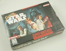 Super Nintendo SNES Super Star Wars - NEW Factory Sealed Original Release NICE