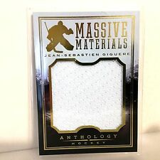 JEAN SEBASTIEN GIGUERE 2015 Panini Anthology 051/299 Massive Materials Jersey SP
