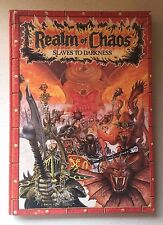 Games Workshop Warhammer 1988 Realm Of Chaos Slaves To Darkness Book - FREE P&P