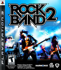 Rock Band 2 PS3 Great Condition Complete Fast Shipping
