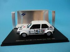 VW VOLKSWAGEN GOLF I GTI #14 THERIER RALLY MONTE CARLO 1980 1/43 NEW SPARK S3210