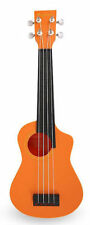 BugsGear Orange Plastic Soprano Aqulele (ukulele) with Case