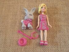 Polly Pocket Doll Fashion Pets Matching Bunny Outfit C88