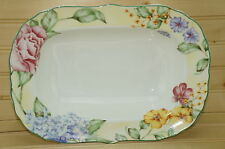 "Westbury Court Jessica McClintock Christina-Oval Vegetable Serving Bowl 11¾"" x 8"