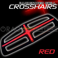 ORACLE Dodge Charger 2011-2014 RED Illuminated Grill Crosshairs Insert