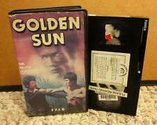 GOLDEN SUN conspiracy Bruce Lee Exposed VHS Bruce Li 1981 Chen Wah & Chang Chee