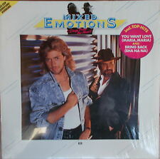 LP Mixed Emotions – Deep From The Heart ,NEAR MINT TOP, Electrola Germany 1985