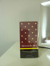 CAROLINA HERRERA HERRERA FOR MEN AFTER SHAVE NEW IN BOX SEALED 50ML/ 1.7 FL.OZ
