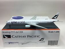 """JC Wings 1:200 Cathay Pacific """"One World"""" B777-300ER B-KPL"""