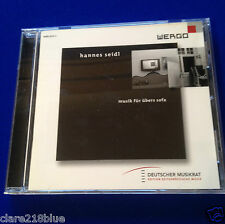 NEW Hannes Seidl Musik fur ubers sofa  Classical CD 2009