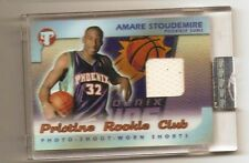 Amare Stoudemire 2002 topps pristine rookie club shorts refractor 2/25