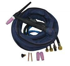 WP18-12 TIG Welding Torch Complete 12-Foot 3.8-Meter Water Cooled 350Amp & M12*1
