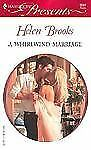 A WHIRLWIND MARRIAGE (Harlequin Presents), Helen Brooks, Good Book