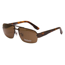 Timberland - Bronze Havana Classic Style Sunglasses with Case