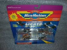 MICRO LIGHTS #16        Micro Machines Set - Avanti / M-Benz   New/Sealed