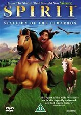 SPIRIT STALLION OF THE CIMARRON  Matt Damon, James Cromwell NEW SEALED UK R2 DVD