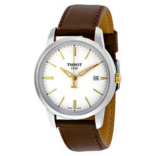 Tissot T Classic Dream White Dial Mens Watch T0334102601100 JD5CJP