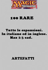 MAGIC LOTTO 100 RARE ARTEFATTI