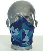 Bandero Biker Motorcycle Face Mask - Electric Design