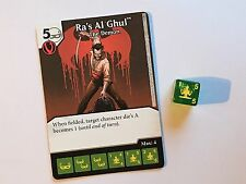 DC Dice Masters Green Arrow and the Flash - Ra's Al Ghul, The Demon #030