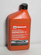 Synthetic Blend MERCON® V Automatic Transmission and Power Steering Fluid 1-QT.