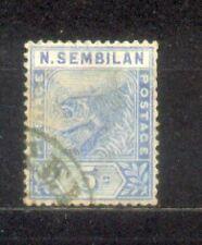 1891 Malaya Negri Sembilan 5c Used CV Rm 180
