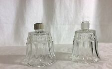 2 Home Interiors Homco Starlite Votive Candle Sconce Cups w/ New Grommets