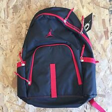 NIKE AIR JORDAN JUMPMAN BACKPACK BLACK GYM RED NEW WITH TAGS