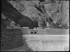 Glass Magic Lantern Slide WATER TANK ADEN C1910 PHOTO YEMEN