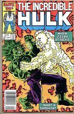 Incredible Hulk #327-1986 fn+ Hulk vs Zzzax Al Milgrom
