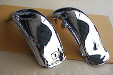 "YAMAHA CHAPPY LB80 LB50 FRONT & REAR FENDER ""CHROME"" ""HAND MADE"" (bi)"