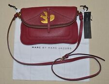 Marc by Marc Jacobs Petal To The Metal Percy Leather Crossbody Bag  NWT $278