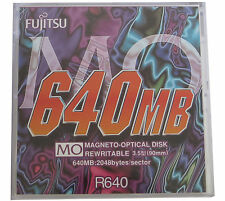 Fujifilm Rewritable Optical Disk  640 MB MO NEU R640   #10