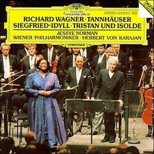 Herbert von Karajan [Conductor],, Wagner: Tannhäuser Overture; Siegfried-Idyll;