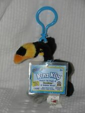 WEBKINZ KINZ KLIP Collectible TOCO TOUCAN Clip with SEALED CODE New Unused