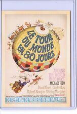 VINTAGE REPRO MOVIE POSTER LE TOUR DU MONDE EN 80 JOURS REPRODUCTION POSTCARD